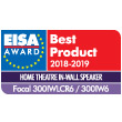 300ICWLCR6 - 300IW6 - Best Product 2017-2018 - Home Theatre In Wall Speaker - 08 2018 - EISA
