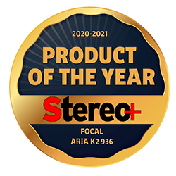 Product of the year - Stereo + - Aria K2 936 - Stereo +