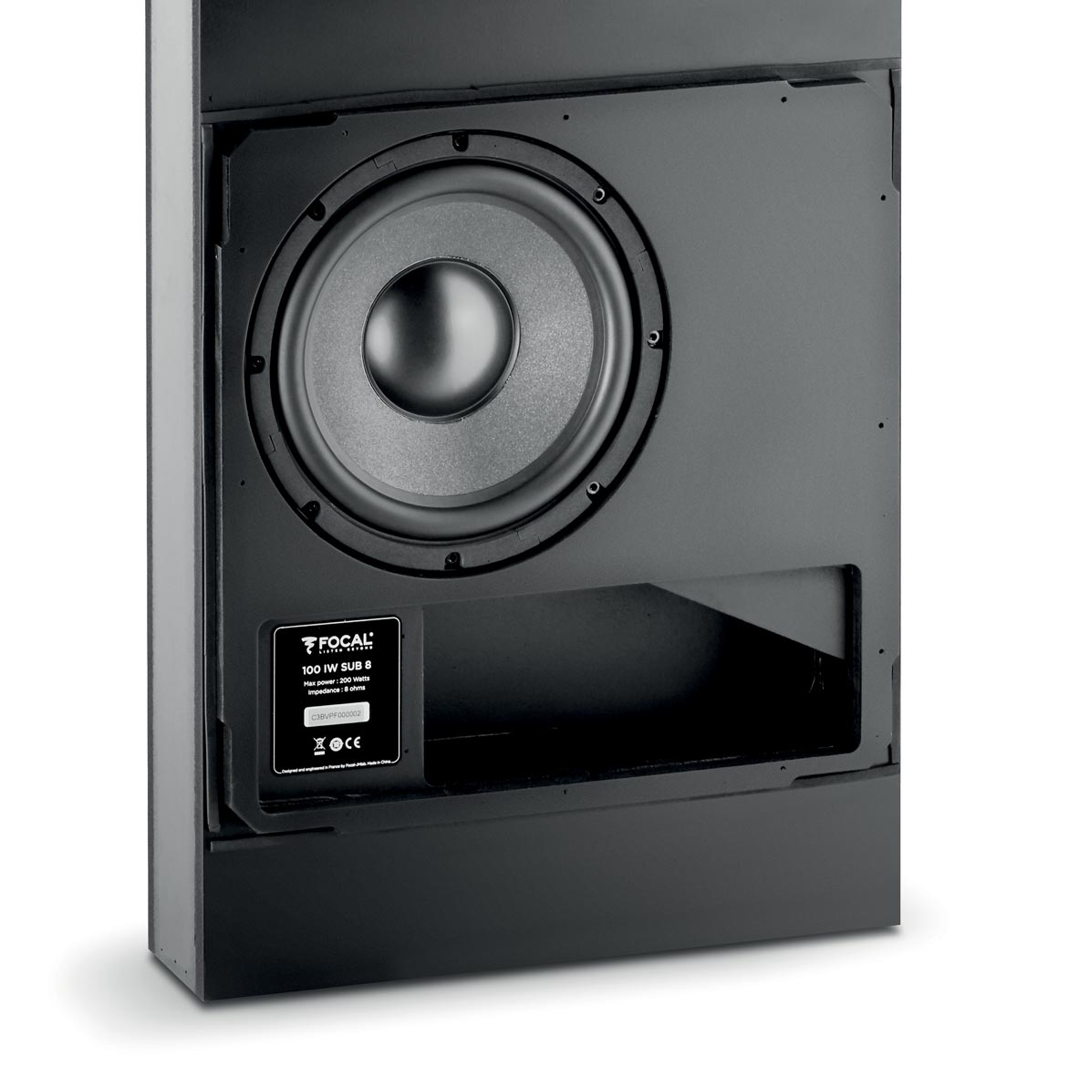 100 IWSUB8 - a subwoofer to be installed in the walls   Focal