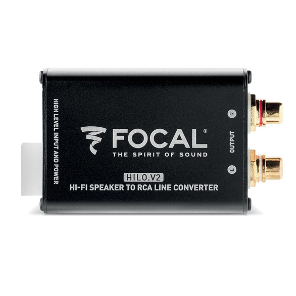 Hilo V2, stereo amplified signal converter | Focal | Listen Beyond