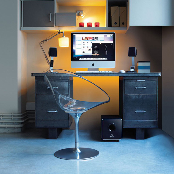 enceinte de bureau xs 2 1 focal focal listen beyond. Black Bedroom Furniture Sets. Home Design Ideas