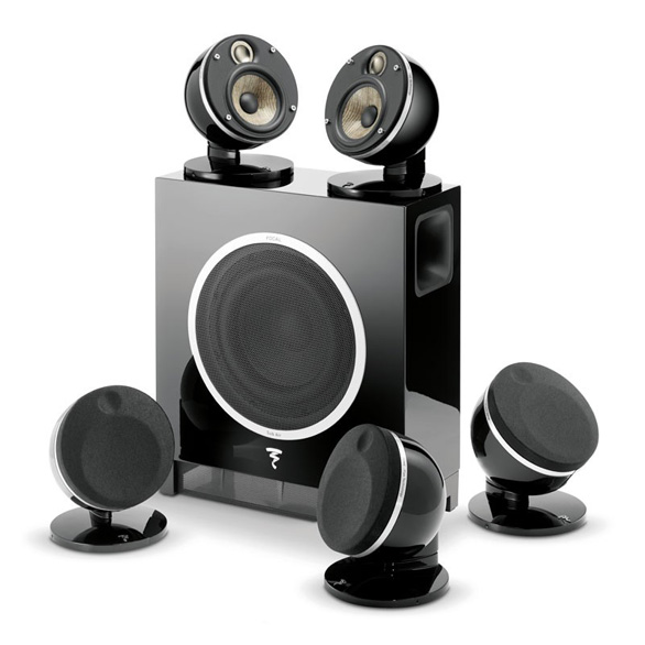 home cinema loudpseakers dome pack 5 1 focal focal listen beyond. Black Bedroom Furniture Sets. Home Design Ideas