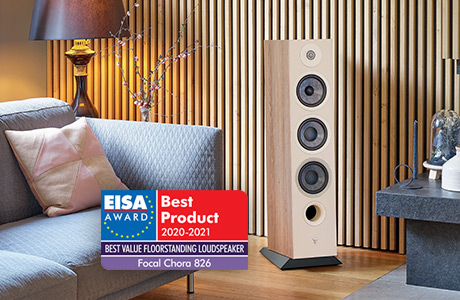 "CHORA 826: ""Best Value Floorstanding Loudspeaker 2020/2021"""